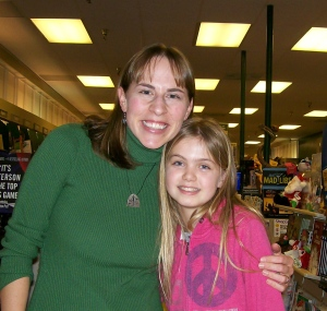 Me and Samantha---what a sweetheart!