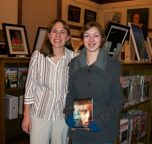 Adria and me at Galena Public Library!