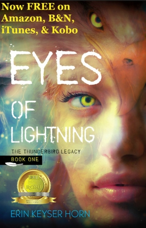 EYES OF LIGHTNING is free!!